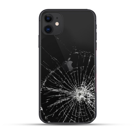 iPhone 11 Backcover Reparatur / Tausch / Wechsel schwarz