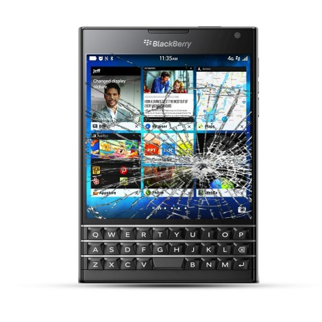 BlackBerry Passport Reparatur LCD Touchscreen Display
