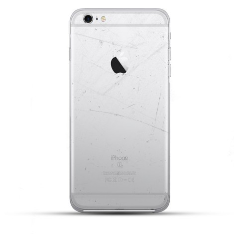 iPhone 6s Plus Backcover Reparatur / Tausch / Wechsel (ohne Material) weiß