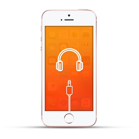 Apple Iphone SE Reparatur Kopfhöreranschluss weiss