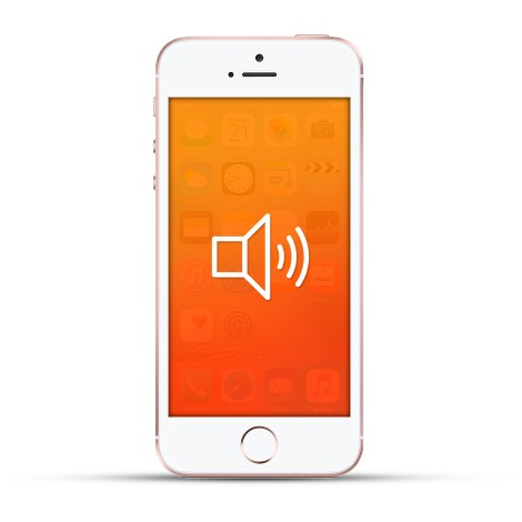 Apple Iphone SE Reparatur Lautsprecher weiss