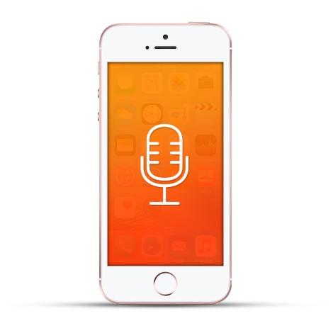 Apple Iphone SE Reparatur Mikrofon weiss