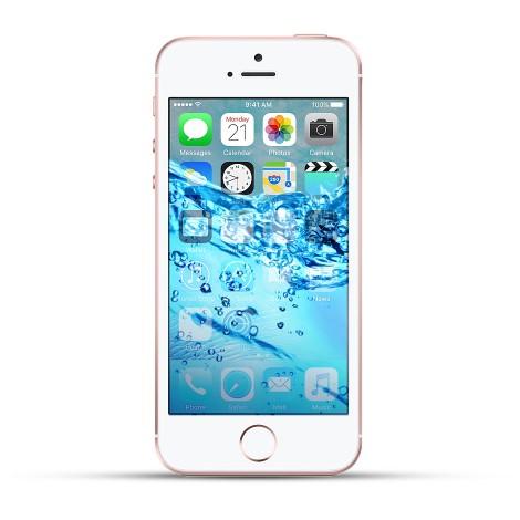 Apple Iphone SE Reparatur Wasserschaden Behandlung weiss