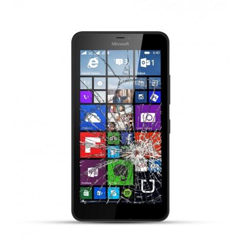 Nokia Lumia 640 Reparatur LCD Display Touchscreen Glas