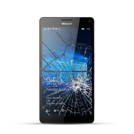 Nokia Lumia 950 Reparatur LCD Display Touchscreen Glas