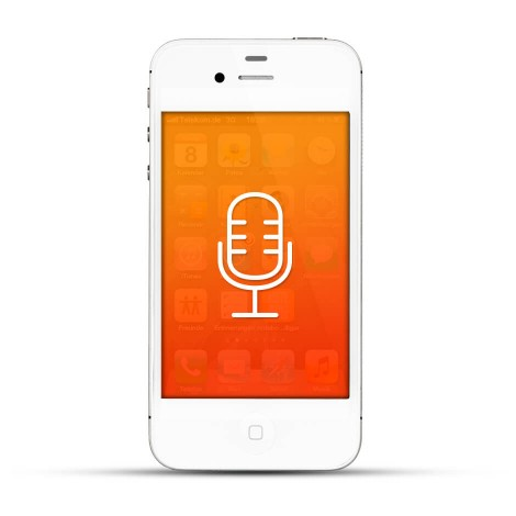 Apple iPhone 4 / 4s Reparatur Mikrofon