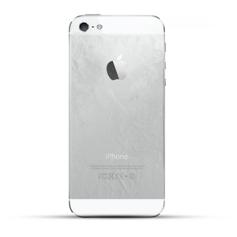 Apple iPhone 5s Reparatur Backcover Glas Weiss