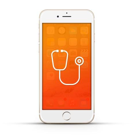 Apple iPhone 6s Reparatur Diagnose Weiss