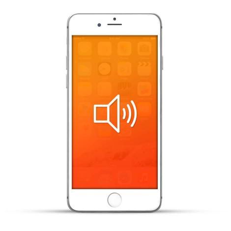Apple iPhone 6 Plus Reparatur Lautsprecher Weiss