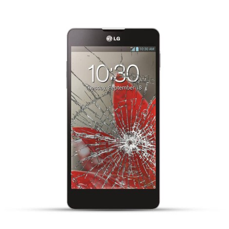 LG E975 Optimus G Reparatur LCD Touchscreen Display Glas