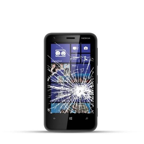 Nokia Lumia 620 Reparatur LCD Dispay Touchscreen Glas