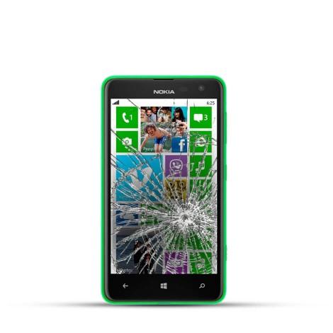 Nokia Lumia 625 Reparatur LCD Dispay Touchscreen Glas