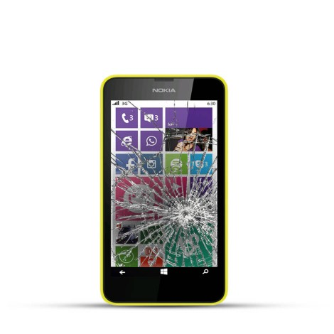 Nokia Lumia 630 Reparatur LCD Dispay Touchscreen Glas