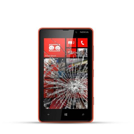 Nokia Lumia 820 Reparatur LCD Dispay Touchscreen Glas
