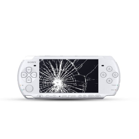 PlayStation Portable Slim 3004 Displayreparatur inkl. Ersatzdisplay