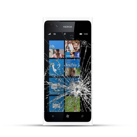 Nokia Lumia 900 Glas Reparatur inkl. Rahmen