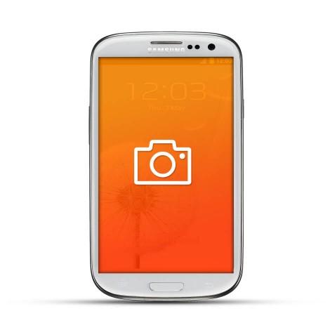 Samsung Galaxy S3 Reparatur Kamera White