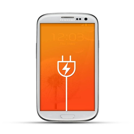 Samsung Galaxy S3 Reparatur USB Dock White