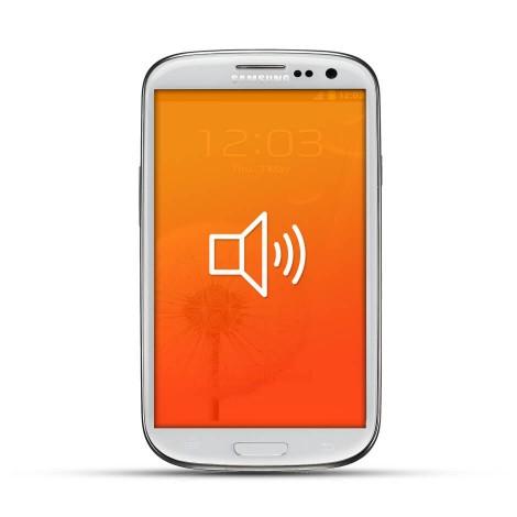 Samsung Galaxy S3 Reparatur Lautsprecher White