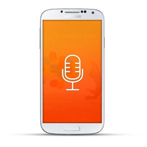 Samsung Galaxy S4 Reparatur Mikrofon White