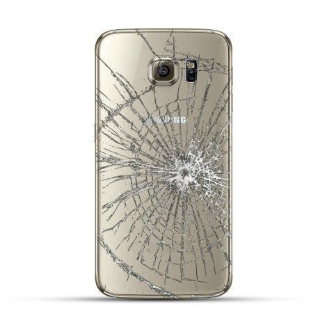Samsung Galaxy S6 Reparatur Backcover Weiss