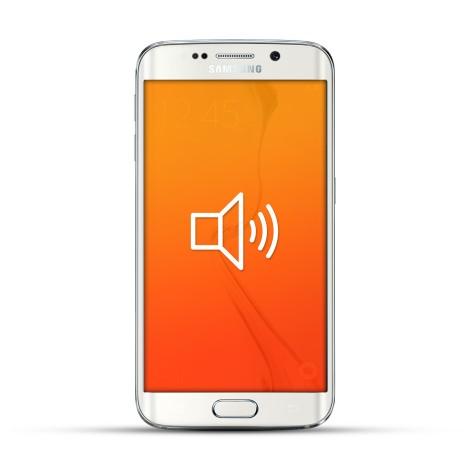 Samsung Galaxy S6 Edge Reparatur Lautsprecher Weiss