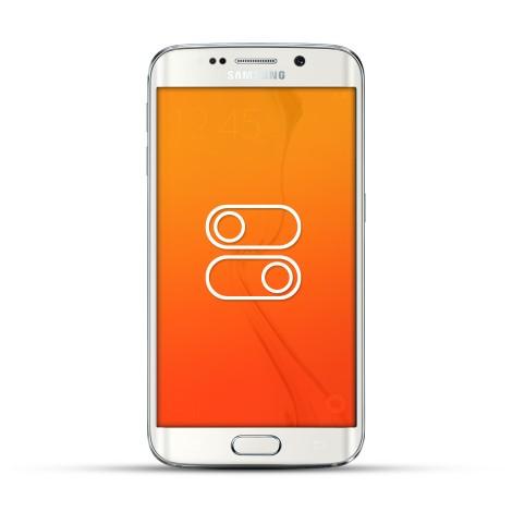 Samsung Galaxy S6 Edge Reparatur Schalter Weiss