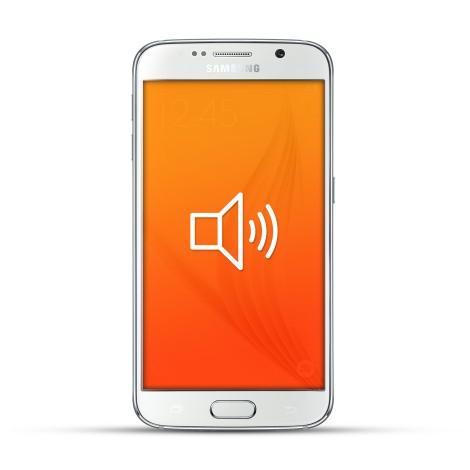 Samsung Galaxy S6 Reparatur Lautsprecher Weiss