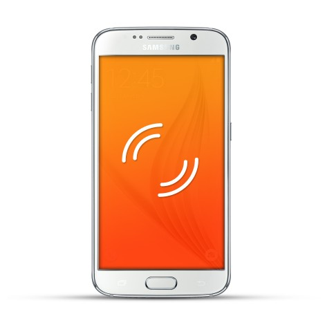 Samsung Galaxy S6 Reparatur Vibrationsalarm Weiss