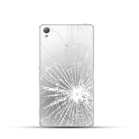 Sony Xperia Z3 Reparatur Backcover Glas White