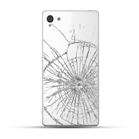 Sony Xperia Z4 Reparatur Backcover Glas Weiss