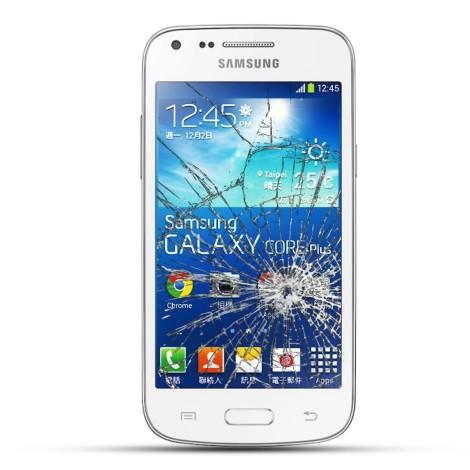 Samsung G350F Galaxy Core Plus Reparatur Display Touchscreen LCD weiß