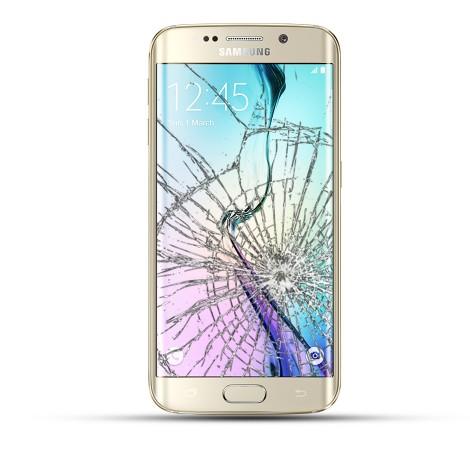 Samsung Galaxy S6 Edge Plus Reparatur Display Touchscreen gold