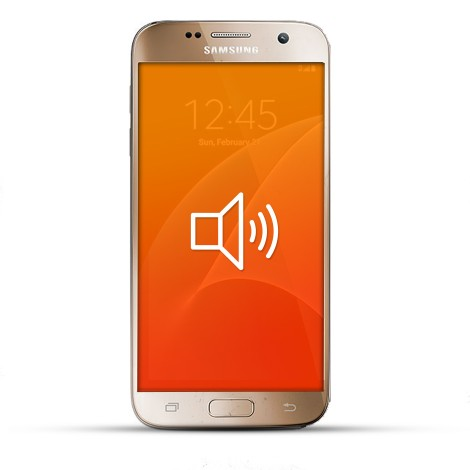 Samsung Galaxy S6 Edge Reparatur Lautsprecher gold