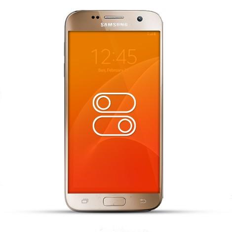 Samsung Galaxy S7 Reparatur Schalter gold