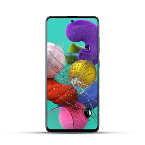 Samsung A51 Reparatur LCD Display Touchscreen Glas