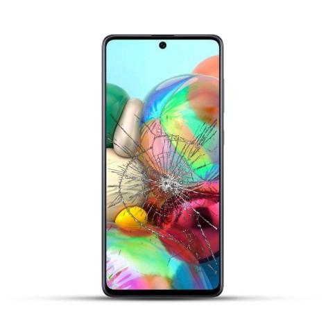 Samsung A71 Reparatur LCD Display Touchscreen Glas