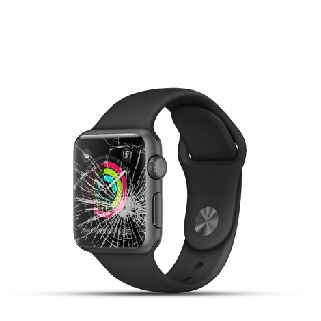 Apple Watch Series 1 Reparatur Display Schwarz