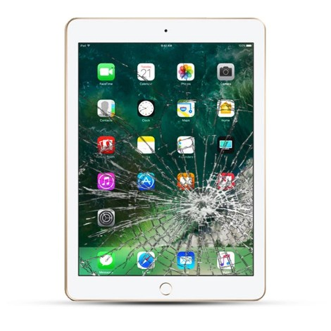 Apple iPad Pro 9.7 (2016) Reparatur Display Touchscreen Glas schwarz