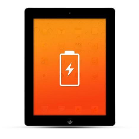 Apple iPad 2 / 3 / 4 / Air Reparatur Akku / Akkutausch Schwarz