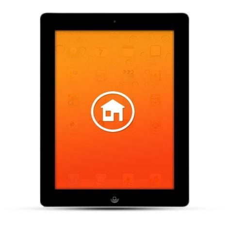 Apple iPad 2 / 3 / 4 / Air Reparatur Homebutton schwarz