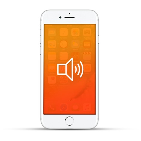 Apple iPhone 7 Reparatur Lautsprecher Weiss