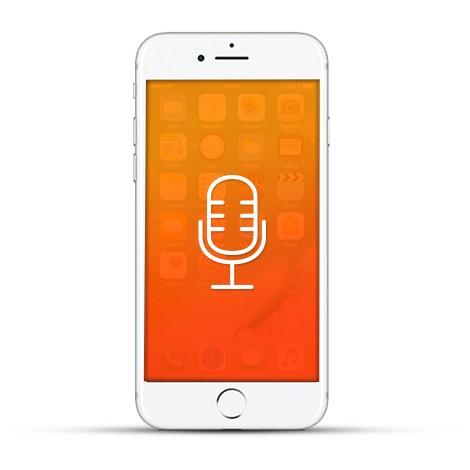 Apple iPhone 7 Reparatur Mikrofon Weiss