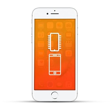 Apple iPhone 7 Plus Reparatur Touch IC weiß