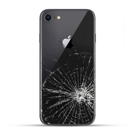 iPhone 8 / 8 Plus Backcover Reparatur / Tausch / Wechsel schwarz