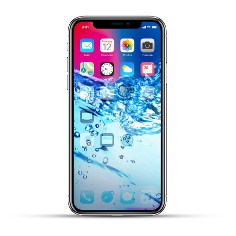 Apple iPhone X Reparatur Wasserschaden Behandlung