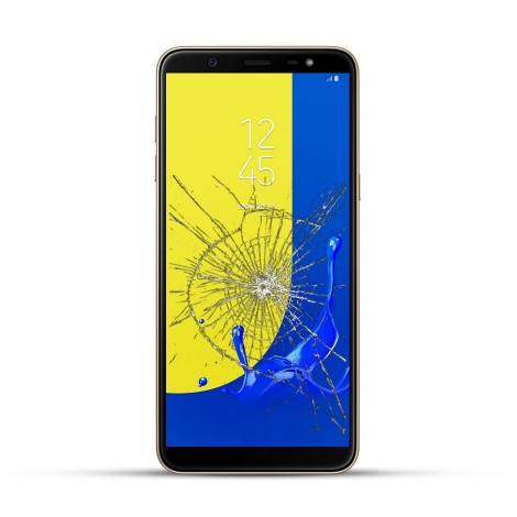 Samsung Galaxy J8 Reparatur Display Touchscreen Glas
