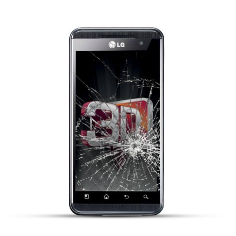 LG Optimus 3D Reparatur LCD Display Austausch
