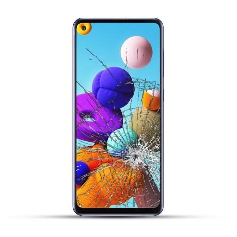 Samsung A21s Reparatur Display Touchscreen + LCD