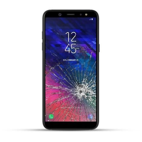 Samsung A6 Reparatur LCD Dispay Touchscreen Glas